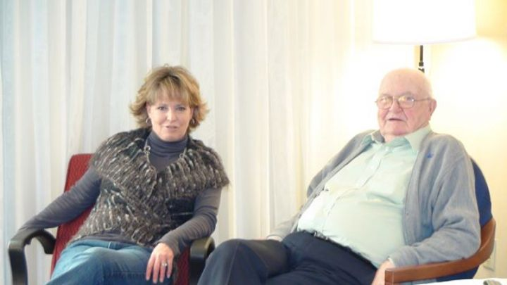DAD AND ME - Sharon McDonald-Wilson