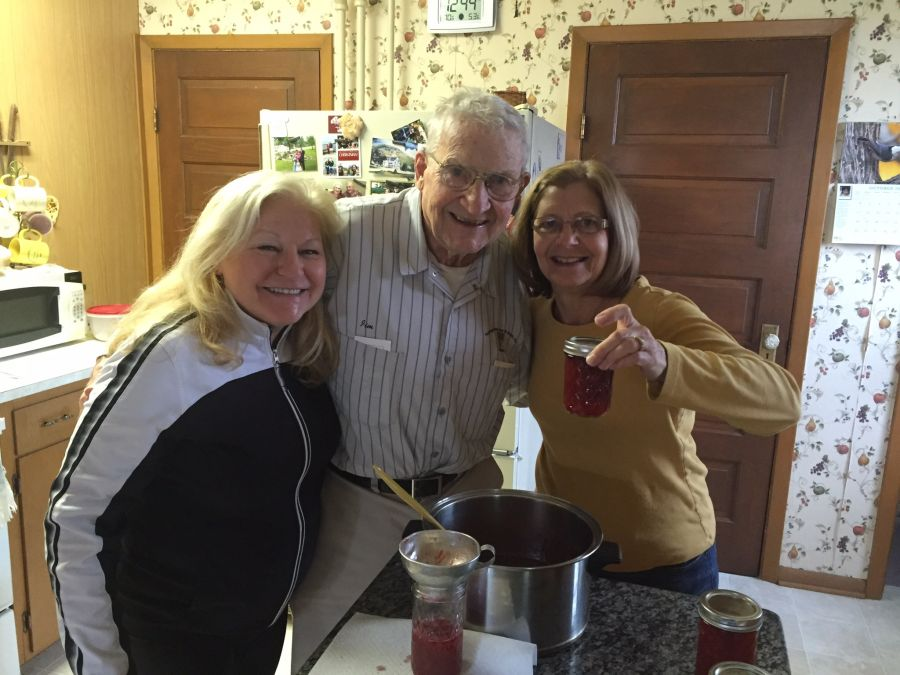 We got to know Jim through his daughter LouAnn and what a gift his friendship was! He never failed to bring a giggle and a smile from us !  His quick wit and welcoming personality will be forever missed. What a GOOD MAN he was. God bless his memory and especially our special friends, the Wiens.  - Michael and Becky Kanz